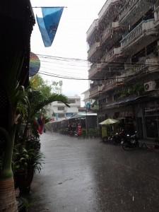 Tropisk regn...