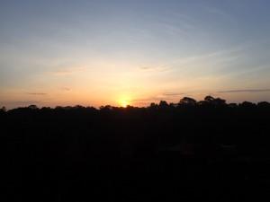 Soloppgangen sett fra Angor Wat