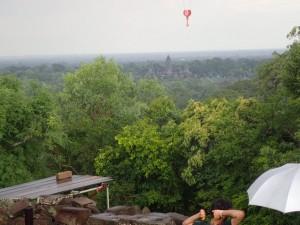 Angkor Wat sett fra Phnom Bakheng