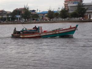 Lokal fiskebåt