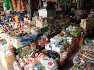Fra markedet i Mae Sai
