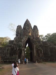 Inngangsporten til Angkor Thom