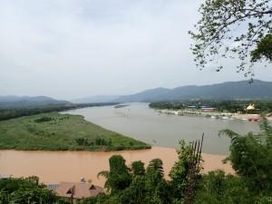 Myanmar, Laos og Thailand