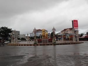 Golden Lion roundabout (Sihanoukville)