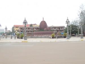 Durian roundabout (Kampot)