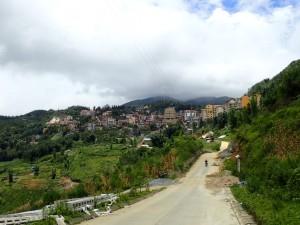 Sapa, sett fra dalen