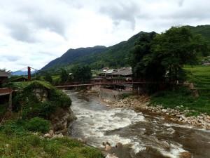 Landsbyen Lao Chai