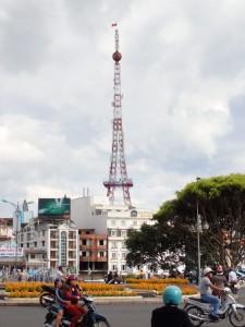 Eiffeltårn-inspirert radiomast