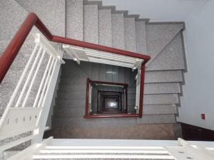 Trappeoppgangen på hotellet (ingen heis)