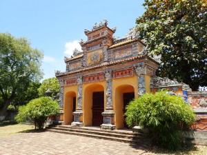 Porten til Truong San Residence