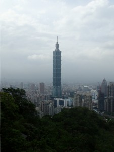 Taipei 101 (fra Elephant Mountain)