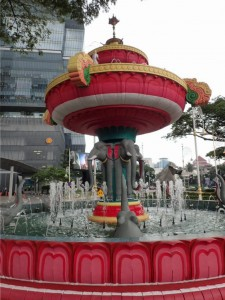 Ganesh elephant fountain