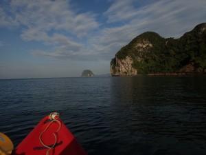 På vei mot sjørøverhulen