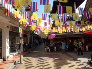 Gatebilde, fra Ton Sai Village
