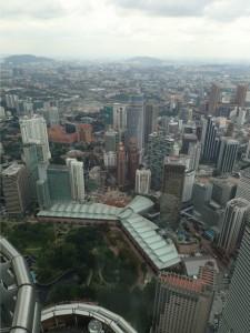 Utsikt over Kuala Lumpur