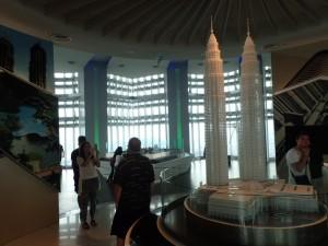Observasjonsdekket i 86. etasje