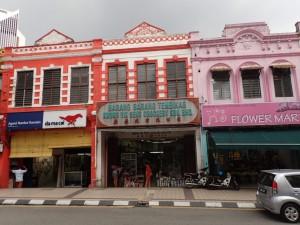 Mange flotte bygninger i Chinatown