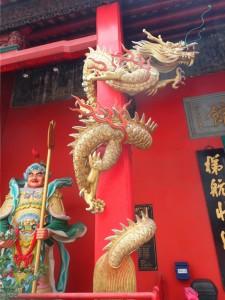 Detalj fra Guan Di Temple