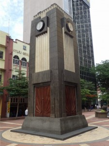 Clock Tower fra 1937 i Art Deco stil