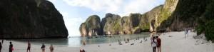 Panoramabilde av Maya Bay