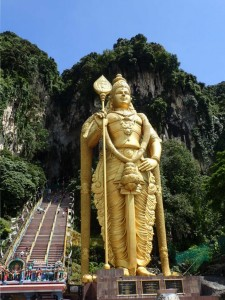 Statuen av Murugan