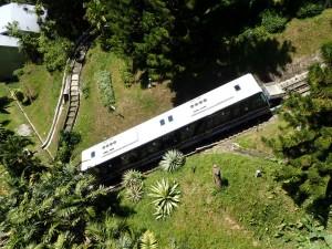 Funicular, toget til toppen