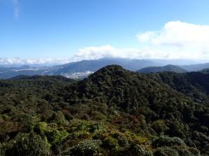 Utsikt mot Brinchang