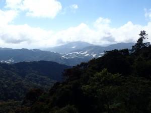 Utsikt mot Tanah Rata
