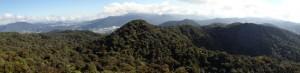 Panoramabilde fra toppen