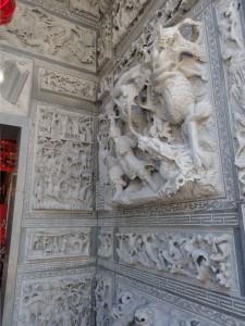 Detalj på tempelet