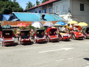 Trishaw, 3-hjulet sykkeltaxi