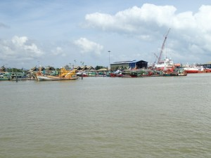 Pulau Duyung med skipsverft