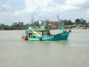 Malaysisk fiskebåt