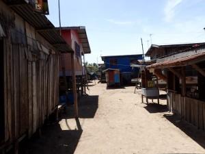 Den lokale fiskerlandsbyen