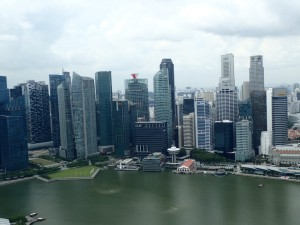Utsikt over Singapore