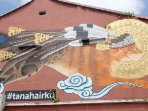 Veggmaleri i Chinatown