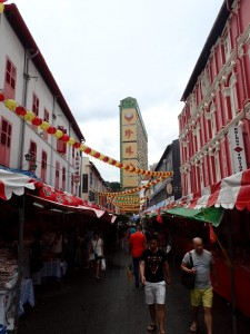 Gatebilde fra Chinatown