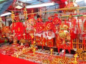 Fra markedet i Chinatown