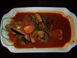 Fisk med spicy tamarindsaus