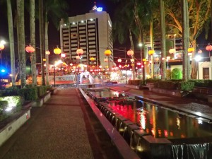 Kuching by night