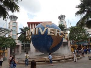 Universal Studios er lokalisert på Sentosa
