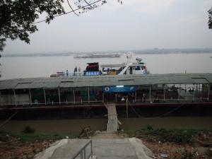 Båten klar for avgang