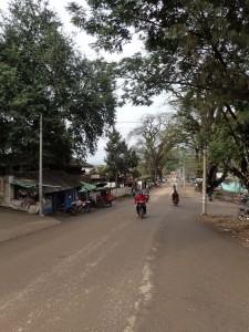 Gatebilde Hsipaw
