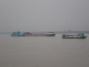 Båter på Irrawaddy