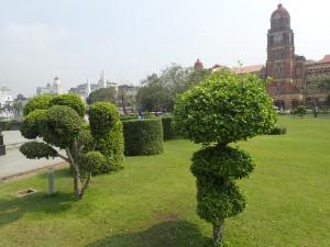 Vakkert i parken rundt monumentet