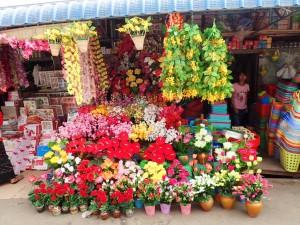 Fargerike blomster...