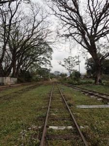 Fra jernbanestasjonen