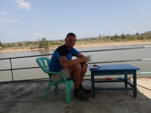 Kaffepause ved elva