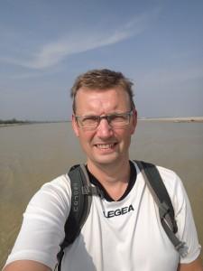 Selfie på Irrawaddy