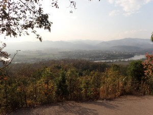 Utsikt fra Sunset Hill